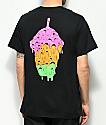 Slushcult Trinity Drip camiseta negra