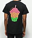 Slushcult X Gushers Cup Black T-Shirt
