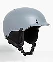 Smith Gage Charcoal Snowboard Helmet