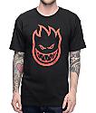 Spitfire Big Head camiseta en negro y rojo