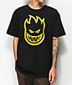 Spitfire Bighead Black & Gold T-Shirt