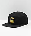 Spitfire Bighead Black & Yellow Snapback Hat