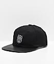 Spitfire Bighead Black Snapback Hat