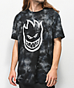 Spitfire Bighead Black Washed T-Shirt