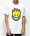 Spitfire Bighead Fade White T-Shirt