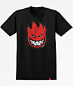Spitfire Bighead Fill Black & Red T-Shirt