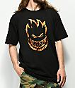 Spitfire Bighead Flame Black T-Shirt