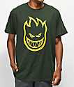 Spitfire Bighead Forest Green T-Shirt