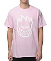 Spitfire Bighead Pink T-Shirt