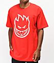 Spitfire Bighead Swirl Red T-Shirt