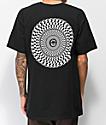 Spitfire Checkered Swirl Black T-Shirt