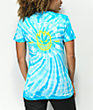 Spitfire Classic Bighead Aqua Tie Dye T-Shirt