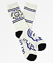 Spitfire Classic Bighead calcetines blancos, negros y azules
