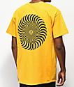 Spitfire Classic Swirl Gold T-Shirt