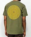 Spitfire Classic Swirl Green T-Shirt