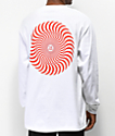 Spitfire Classic Swirl camiseta de manga larga blanca