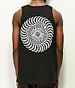 Spitfire Classic Swirl camiseta negra sin mangas