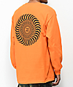 Spitfire Covert Classic Orange Long Sleeve T-Shirt
