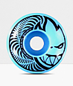Spitfire Hypno-Swirl Blue & Black 53mm Skateboard Wheels