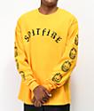 Spitfire Old E Gold Long Sleeve T-Shirt