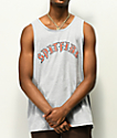 Spitfire Old E Heather Grey Tank Top