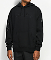Spitfire Old English Embroidered Black Hoodie