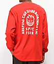 Spitfire Steady Rockin Red Long Sleeve T-Shirt