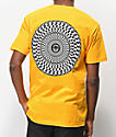 Spitfire Swirl Check Yellow T-Shirt