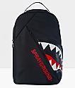 Sprayground Angled Ghost Shark Black Backpack
