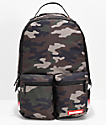 Sprayground Double Cargo Side Shark Camo Backpack