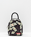 Sprayground Money Leopard Black Mini Backpack