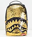 Sprayground Sequins Shark Mouth Backpack