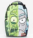 Sprayground x Rick & Morty Toxic Rick Backpack