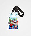 Sprayground x Spongebob Squarepants Shark Shoulder Bag