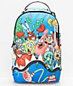 Sprayground x Spongebob Squarepants Shark Squad Backpack