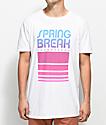 Spring Break Retro Classic White T-Shirt