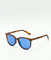 Spy Fizz Matte Blonde Tortoise & Blue Spectra Sunglasses