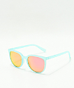Spy Fizz Translucent Sea Foam Grey & Pink Spectra Sunglasses