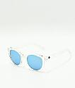 Spy Hi-Fi gafas de sol transparentes y azules