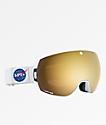 Spy Legacy Space Spectra gafas de snowboard doradas
