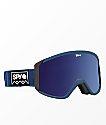 Spy Raider Deep Winter Navy Spectra Snowboard Goggles