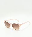 Spy Spritzer Translucent Blush & Bronze Sunglasses