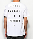 Stance Bends camiseta blanca