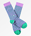 Stance Hysteria Teal Crew Socks