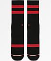 Stance Next Level Black & Red Crew Socks