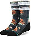 Stance Piña calcetines negros para niños