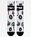 Stance Silly Shrooms calcetines blancos