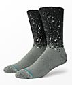 Stance Speck Black Reflective Crew Socks