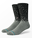 Stance Speck calcetines negros reflectantes