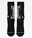 Stance x Lil Uzi Black & Neon Green Crew Socks